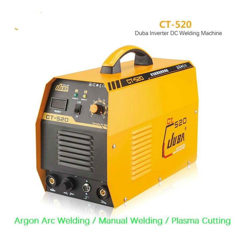 مبيعا 3 في 1 CT520 CT-520 TIG MMA البلازما قطع القاطع العاكس تيار مستمر ماكينات لحام لحام مع مجموعة اكسسوارات مجانية 2