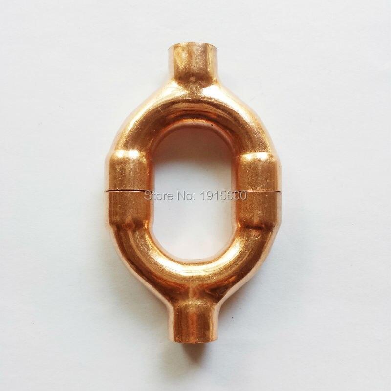 """7/8 """"22,23mm Y Tee/Equal Tee 3 maneras rojo cobre latón ajuste refrigeración piezas aire acondicionado accesorios accesorio de tubería"""