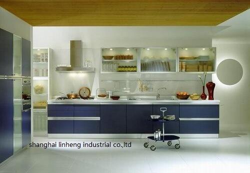 الميلامين/mfc خزائن المطبخ (LH-ME003)