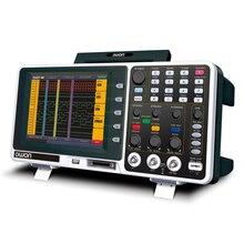 Oscilloscope numérique OWON haute Performance 2 canaux 200MHz 2GS/s Oscilloscope de stockage LCD couleur 8