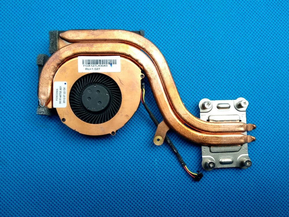 Nuevo Original para Lenovo ThinkPad X230 X230i X230T X220 X220I X220T CPU ventilador de refrigeración con disipador de calor 04W6923