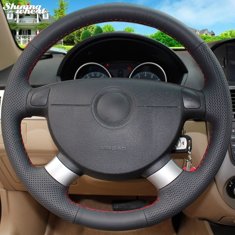Brillante trigo protector para volante de coche para Chevrolet Aveo Lova Buick Excelle Daewoo Gentra 2013-2015 Chevrolet Lacetti 2006-2012