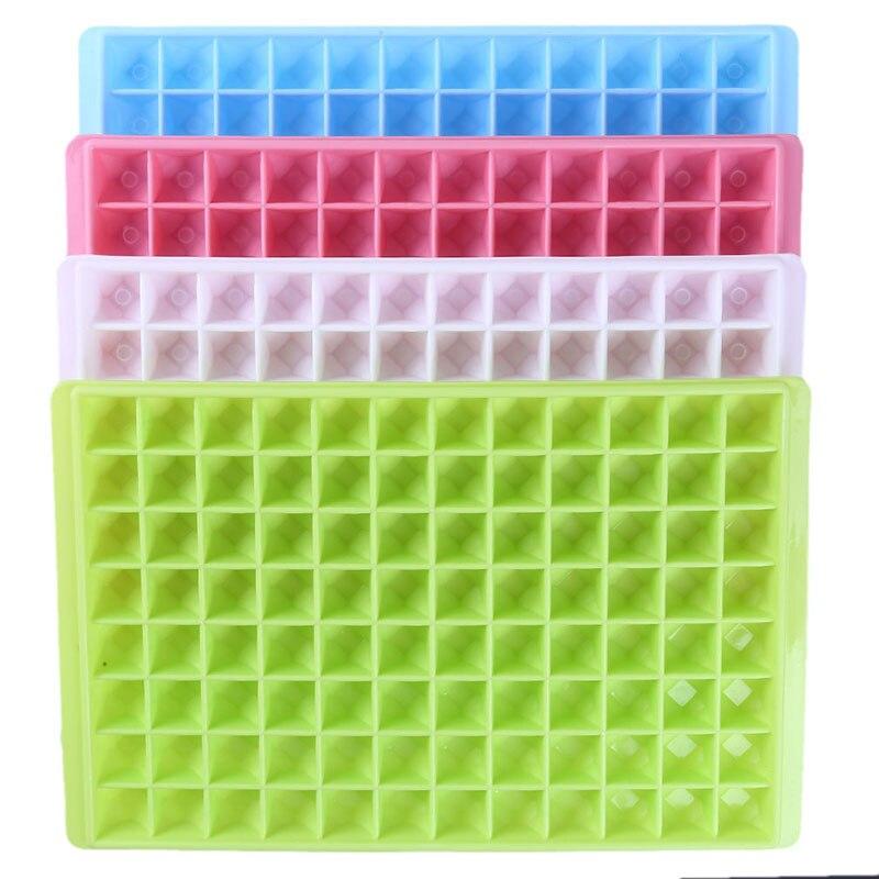 96 tubos diy criativo fabricante de cubo de gelo silicone bandeja de gelo cubo de gelo fabricante barra acessórios cozinha ferramentas fabricante de gelo molde