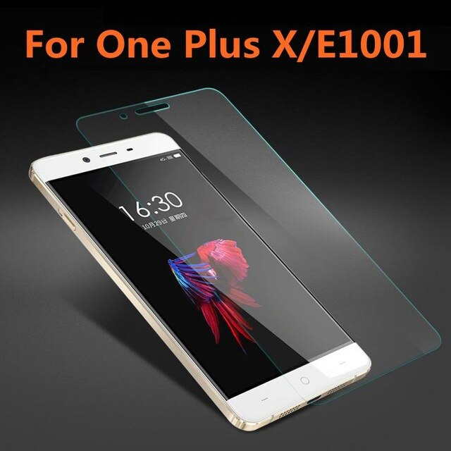 2.5D vidrio templado para OnePlus X película protectora de alta calidad a prueba de explosiones Protector de pantalla para One Plus X E1001