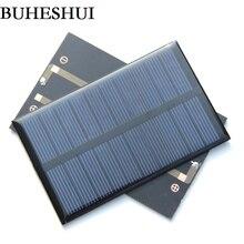BUHESHUI 1,2 Watt 5 V Solarzellen Polykristalline Solar Panel Module DIY Solar-ladegerät Bildung 110*69 MM Epoxy 5 teile/los FreeShipping