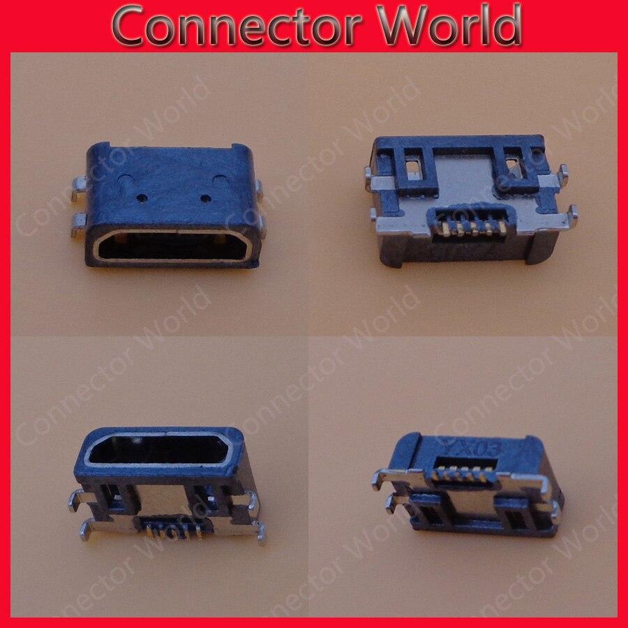 50 piezas Mini USB Conector Micro USB jack hembra puerto de carga para sony/Xiaomi/Nokia/N9 N800 lumia 800 900 n710 N603 610