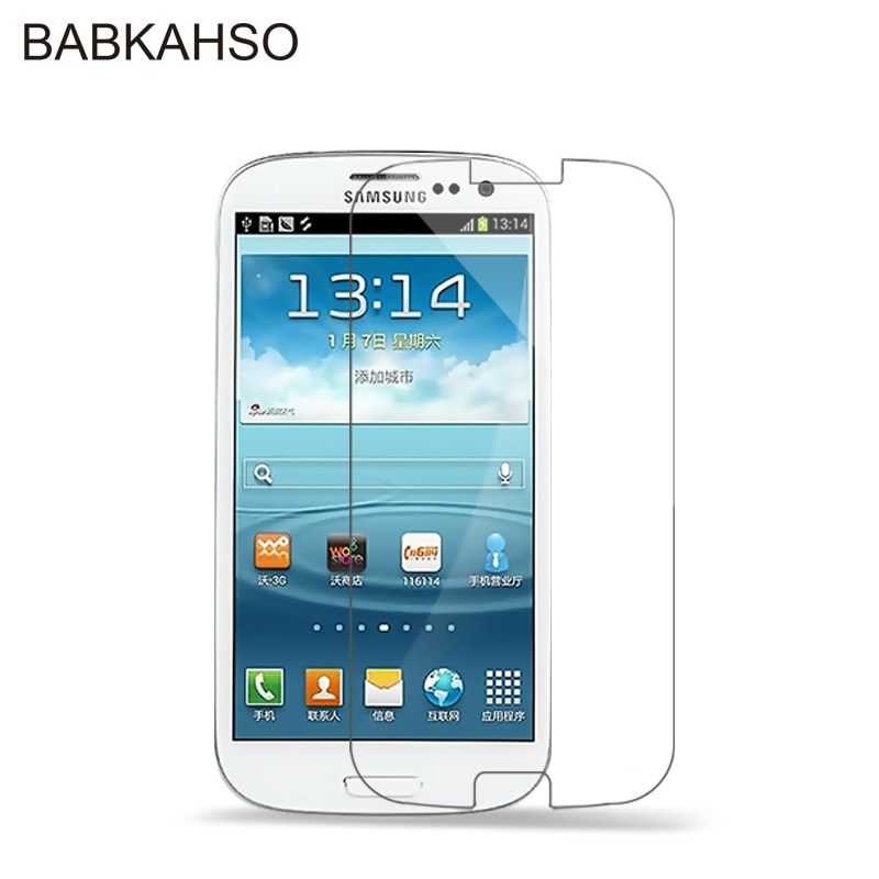 Premium 0.3mm 2.5D Tempered Glass Film Explosion Proof Screen Protector for Samsung Galaxy S3 i9300
