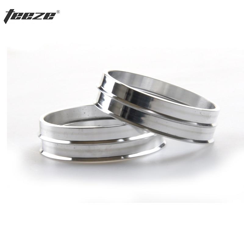 Anillo del cubo de la rueda 4 pçs/set anéis 74.1 a 72.6 centro de cubo de roda de Alumínio spigot anéis frete grátis