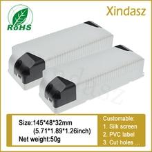 145X48X32mm Led Drive Power Transformator Ballast Controller Plastic Shell Plastic Case 40W 50W (Pc Brandvertragende materialen)