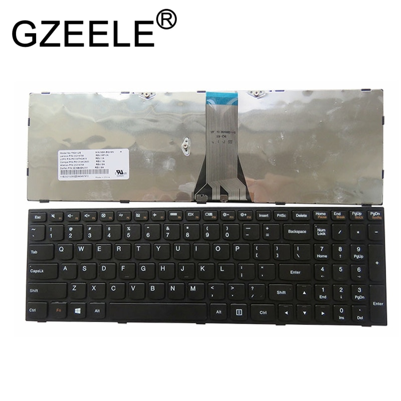 GZEELE New for Lenovo for IdeaPad G50-70 G50 45 G50-70AT Z50 Z50-75 B50 B50-30 B50-70m G50-45-AEI English Laptop keyboard US