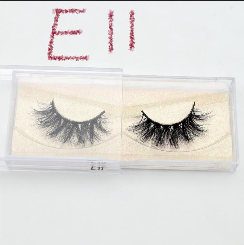 Visofree, ручная работа, натуральные накладные ресницы, 1 пара, блестящая упаковка, макияж, Удлиненные ресницы, 3D норковые ресницы E11