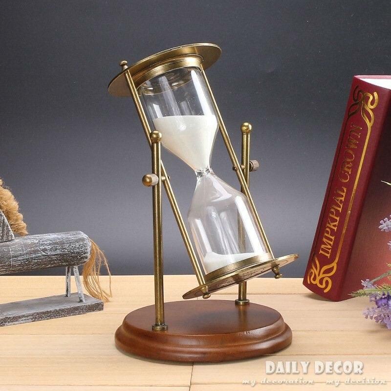 Reloj de arena temporizador da aroia Ampulheta Reloj de arena giratorio de 30/15 minutos