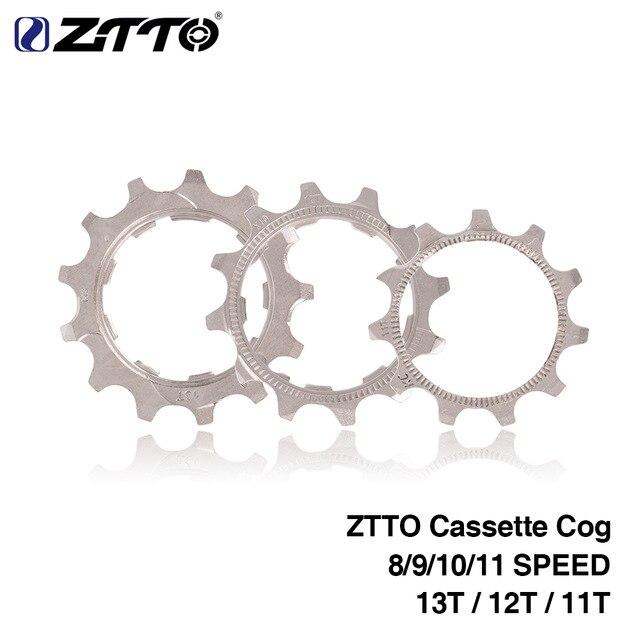 ZTTO bicicleta Cassette Cog MTB 8 9 10 11 velocidad 11T 12T 13T rueda libre piezas para ZTTO SRAM shimano cassette