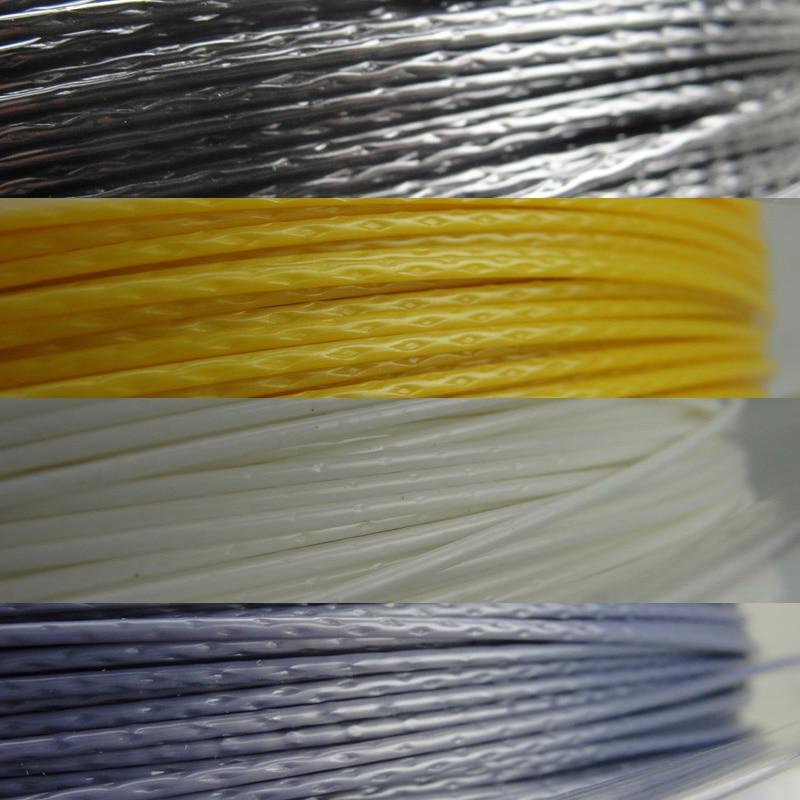 Tennis Racket Strings Polyester Alu Power Rough 125  200m/reel 4 colors