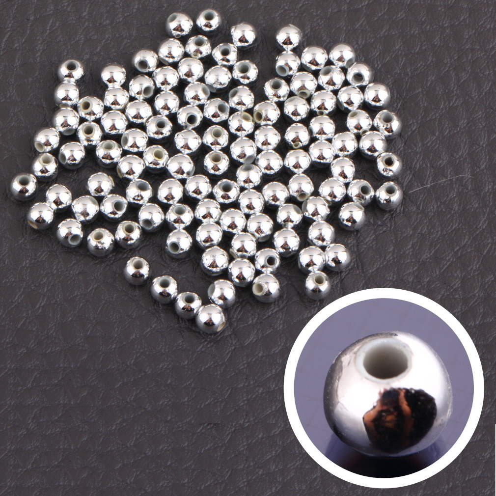 Beadia 100pcs Bicone Austria Glass Crystal Beads Loose Spacer facted Bead for DIY Fashion Jewelry Making
