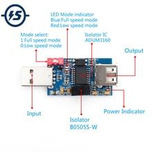 ADUM3160 B0505S 1W 1500V USB vers USB Tension Module Disolateur 12Mbps 1.5Mbps USB Vers USB