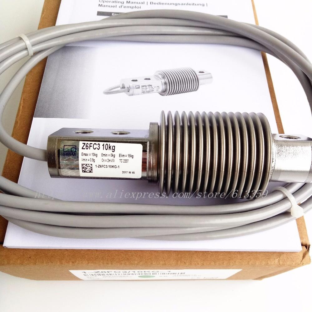 HBM Z6FC3/10 KG Novo & Original Sensores de pesagem da Célula de Carga