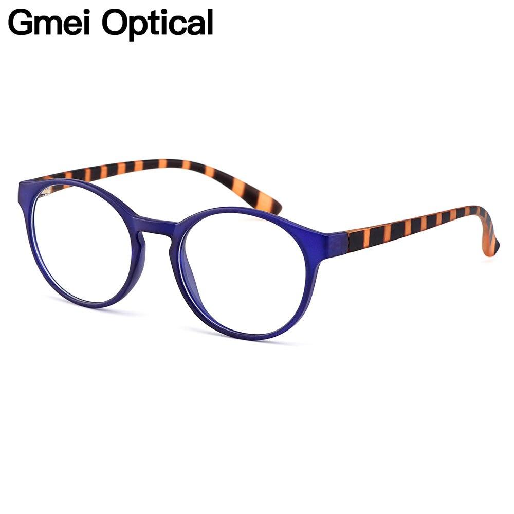 Брендовые дизайнерские винтажные матовые полупрозрачные ультралегкие Пластиковые оправы Gmei для женских очков с полным ободком из TR90, H8015