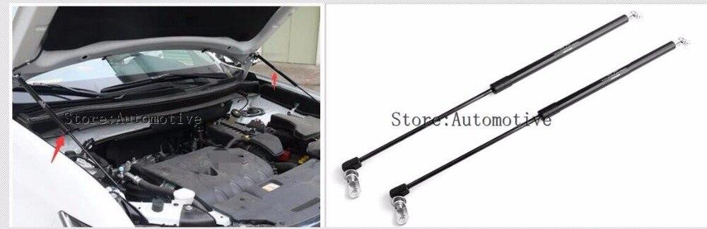 two sides Auto Bonnet Hood Gas Struts Shock Struts Lift Supports 2013-2018  for  Mitsubishi outlander