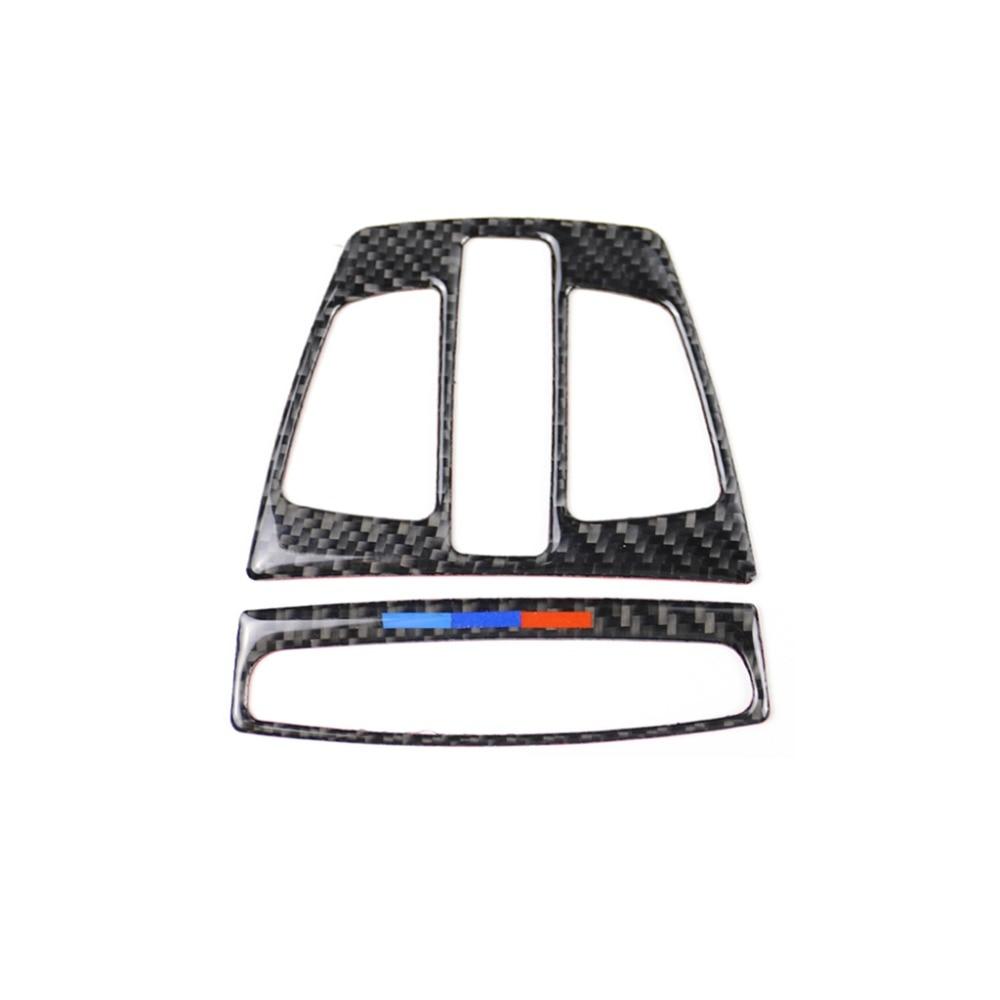 For BMW1 Series 3 Series X5X6X1X2 Touring Car Fashion Sports Carbon Fiber New F20F30F34 Reading Light Panel Refit Accessories