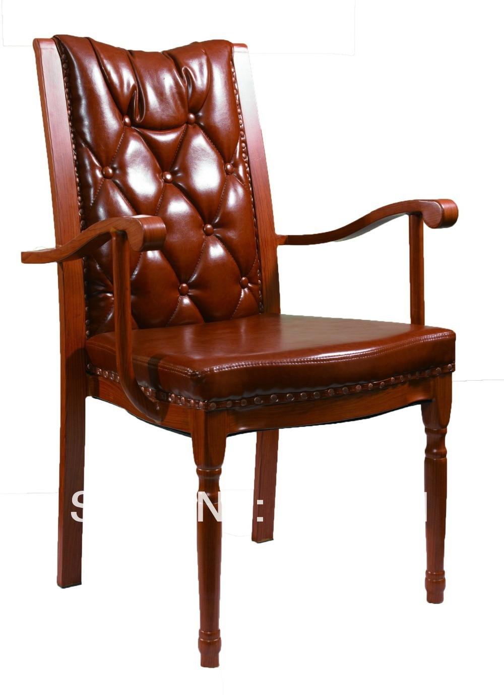 كرسي طعام من الألومنيوم المقلد من الخشب القابل للتكديس ، كرسي بذراعين فاخر من الألومنيوم المقلد ، قماش شديد التحمل مع مقاومة فرك عالية ، مريح