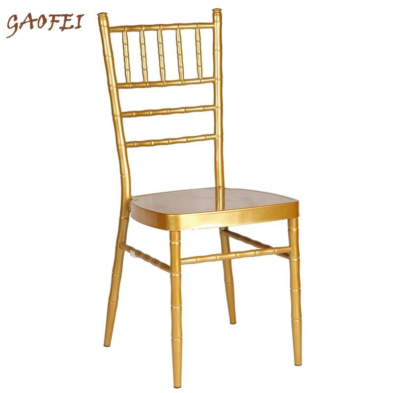 أثاث كرسي شيافاري لحفلات الزفاف والولائم وحفلات الزفاف والحفلات والفنادق بدون وسادة