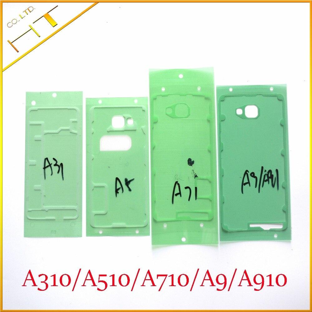 Adhesivo Original para puerta de Samsung Galaxy A310, A510, A710, A9, A910, A3, A5, A7, A9, 2016, 10x