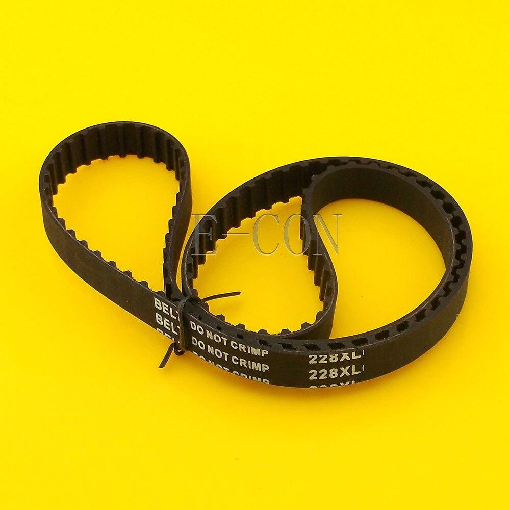 Ремень ГРМ 228XL L039, 114 зубьев, ширина 0,39 дюйма (10 мм) XL, положительный приводной шкив для шагового двигателя с ЧПУ и гравировального станка, 1 шт.