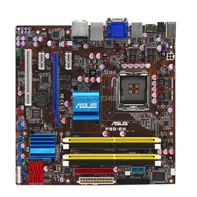 Для ASUS P5Q-EM используется оригинальная материнская плата LGA 775 DDR2 G45 настольная материнская плата