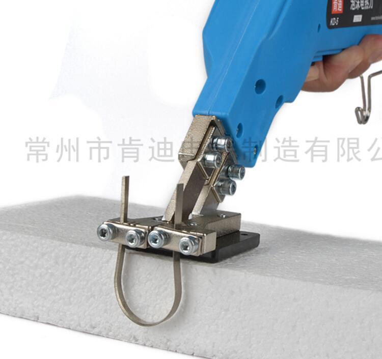 KD-5 foam sponge pearl cotton extruded insulation board cutting electric knife heating warm slotting device