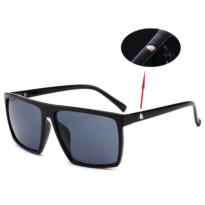 MXDMY 2018 Sunglasses men UV400 Square sunglasses Brand Design UV400 protection Shades oculos de sol