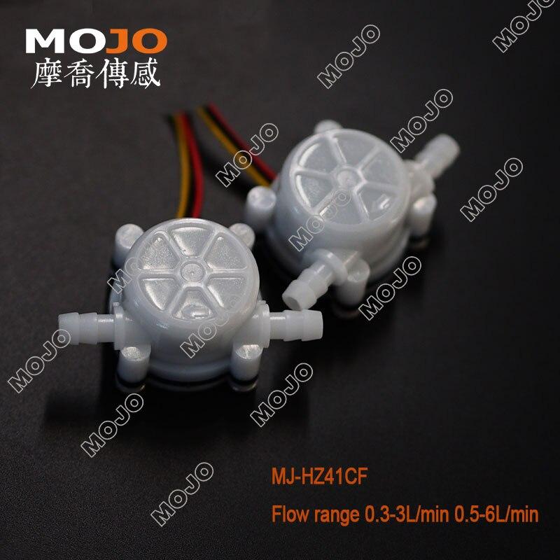 "Water Flow Sensor MJ-HZ41CF Switch Meter Flowmeter Counter Sensor Water Control G1/4"" 10pcs/lots"