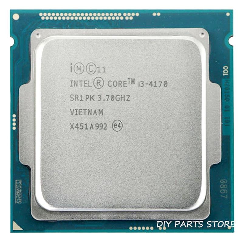 Процессор Intel core i3 4170, 3,7 ГГц, четырехъядерный процессор, 3 МБ ОЗУ, i3-4170, TDP 54 Вт