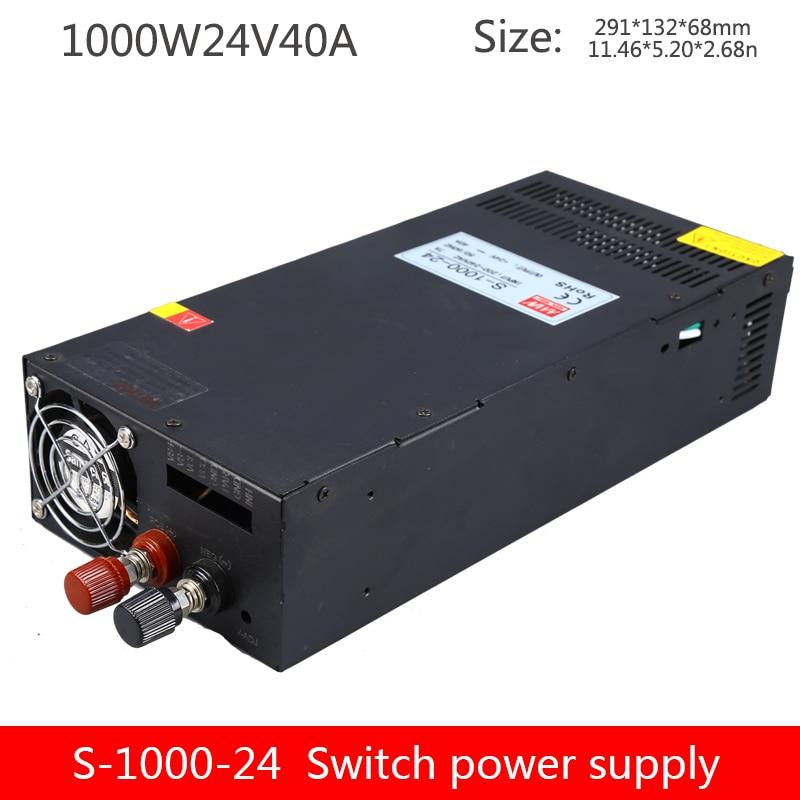 High-power switching power supply S-1000W-24V40A12V80A36V48V60V1000W DC regulated constant current transformer
