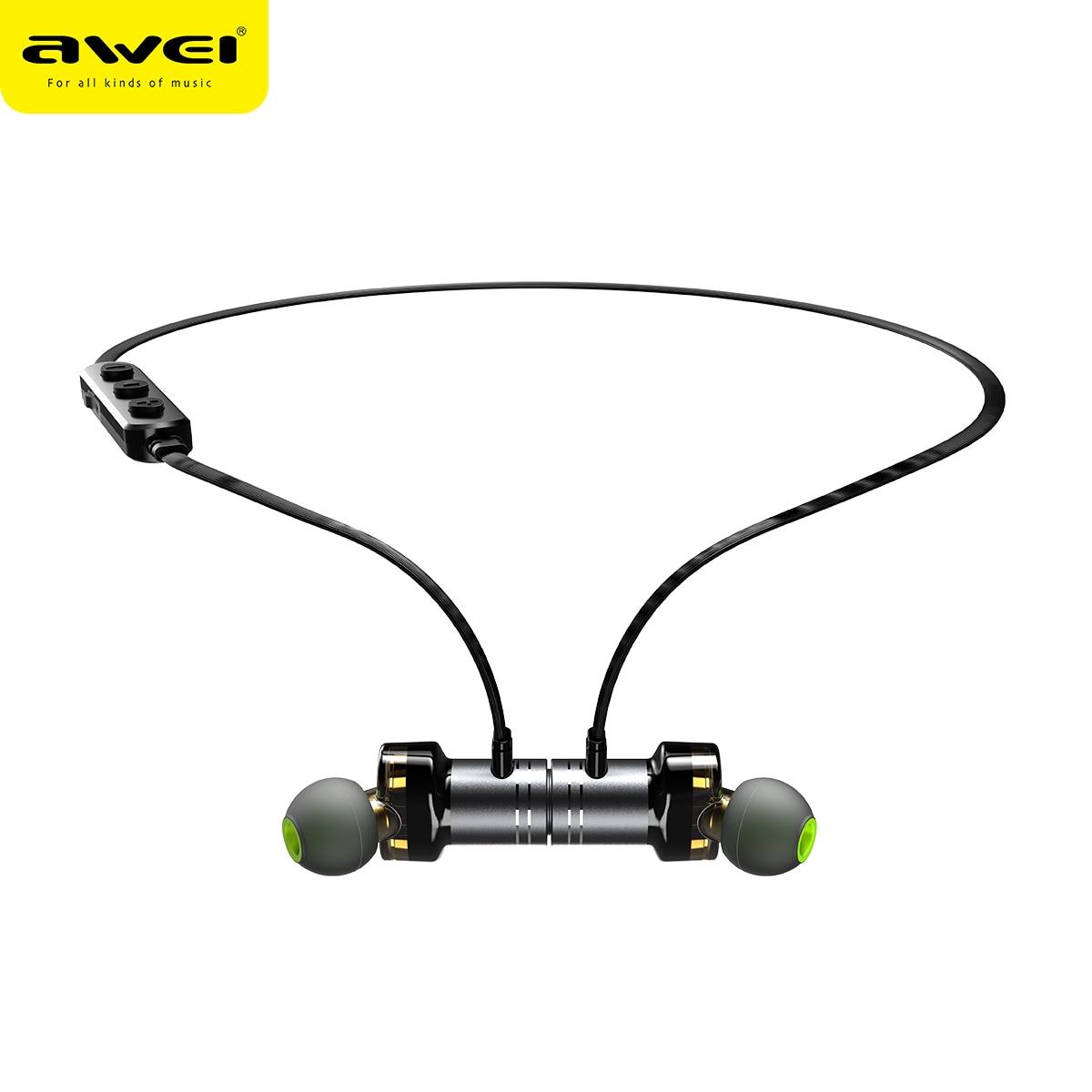 AWEI X670BL Wireless Headphones Bluetooth headset Neckband Earpiece Casque Earphones for phones Auriculares inalambrico kulakl k