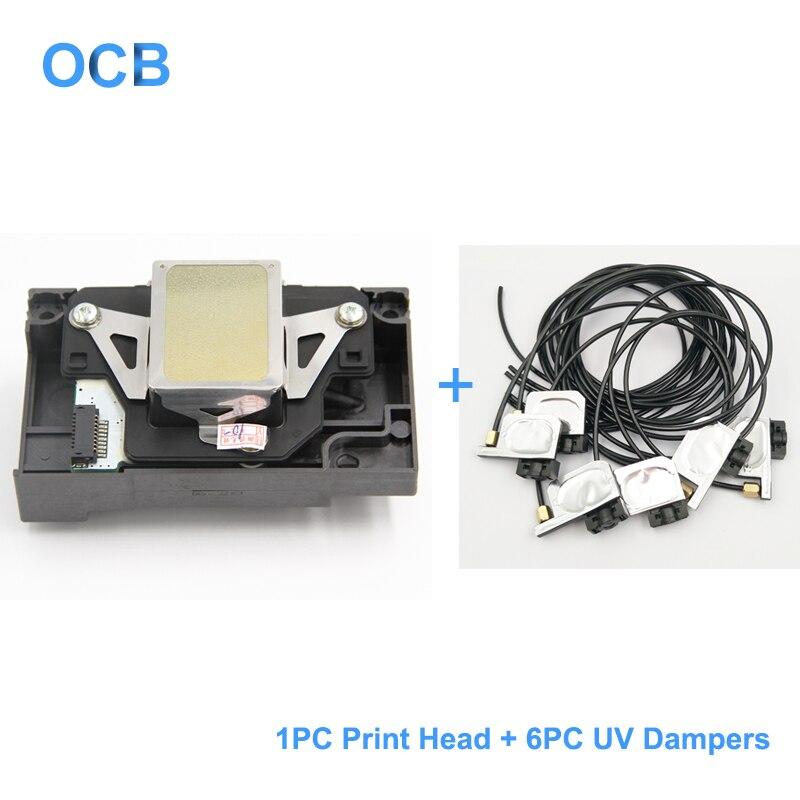 F173050 f173060 f173070 cabeça de impressão da cabeça de impressão para epson stylus foto rx580 1390 1400 1410 1430 l1800 1500 w r260 r270 r330 r360