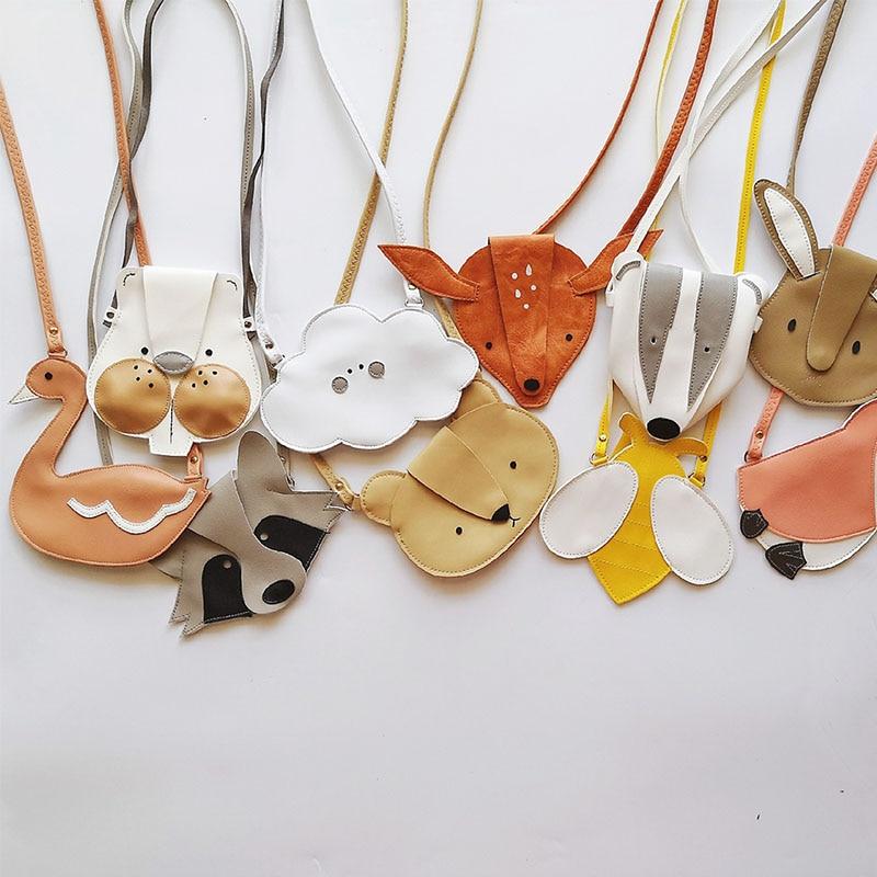 EnkeliBB Toddler Boys Girls Bag Kids All Accessories Cute High Qulity Unisex Fox Animal Accessories