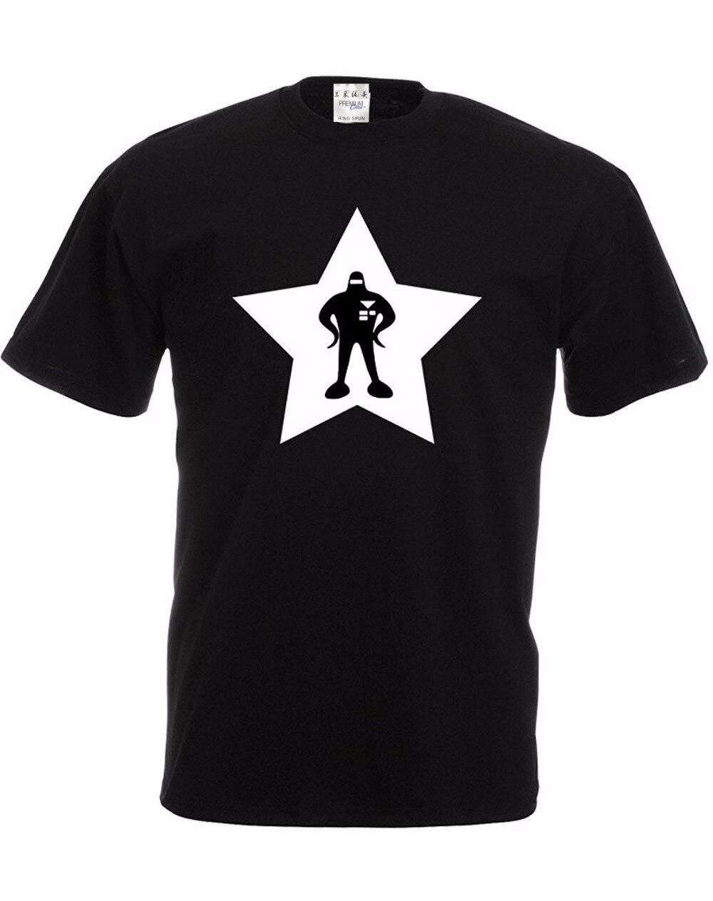 Camiseta 2019 de moda de verano para hombre, camiseta Hipster de cuello redondo Starman, Earthbound!, camiseta estampada para hombre