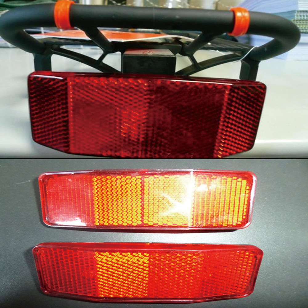 Nuevo estilo de luz para bicicleta, linterna para bicicleta, Reflector trasero de seguridad, precaución, señuelo de disco, reflectante trasero, LED de seguridad para ciclismo