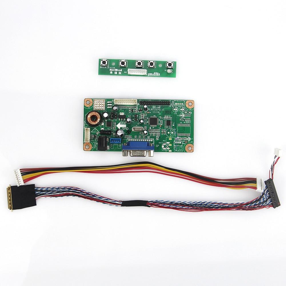 Para B173HW01 N173HGE-L11 M. RT2270 LCD/LED Placa de Driver de Controlador (VGA) LVDS Monitor de Reaproveitamento Laptop 1920x1080