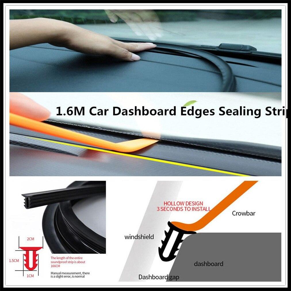 Tira de salpicadero de coche de 1,6 M Goma de sellado frontal para Ford Shelby SYNus King GTX1 Freestyle faillane Equator BA
