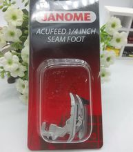 JANOME ACUFEED 1/4 ZOLL NAHT FUß-FÜR HORIZON 7700QCP & MC6600P MODELLE 202-031-002