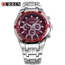 Relogio Masculino Curren Watches Men Brand Luxury Stainless Steel Quartz Watch Men Casual Military Sport Clock Male Wristwatches