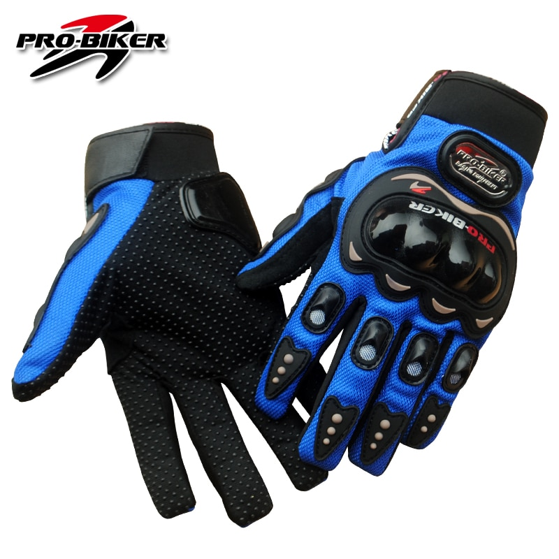free shipping newest rs 390 full skin perforated carbon fiber glove motorcycle racing gloves full finger 3 size 3 color PRO-BIKER Motorcycle Gloves Full Finger Motorcross Dirt Racing Offroad ATV Riding Scooter Guantes Motocicleta Moto Glove MCS01C