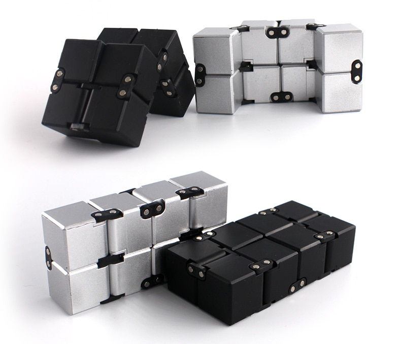 Infinite decompression cube compression toy finger cube infinite cube toy enlarge