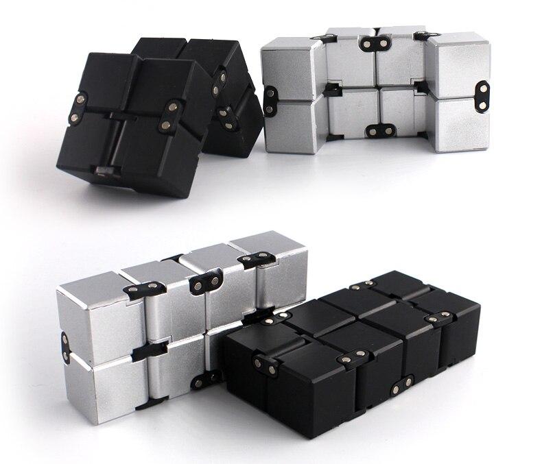 Infinito de descompresión Cubo de juguete dedo cubo infinito Cubo de juguete