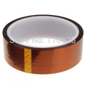 25mm * 30 M de Comprimento e Alta Temperatura Poliimida Fita Resistente para Sua Impressora 3d Reprap
