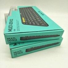 Logitech K380 Drahtlose Bluetooth Tastatur Original Multi-gerät Licht Mini Keybord für Android Apple Telefon Computer