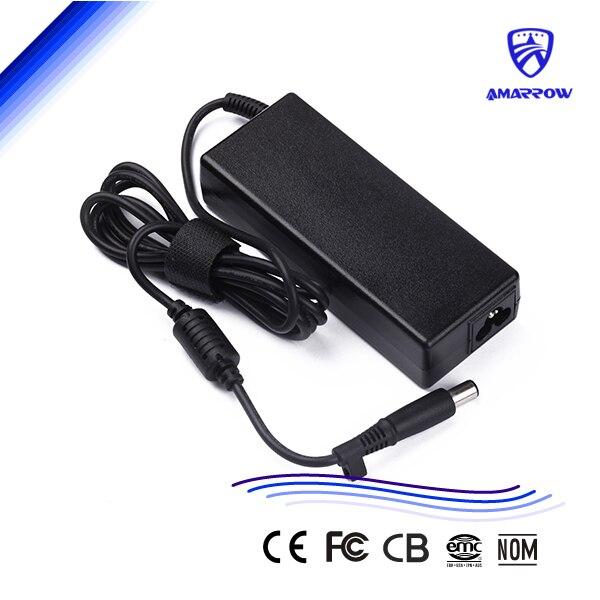 Adaptador de fuente de alimentación Original para ordenador portátil de 90w para HP 6530b 6520s 621 6515b 6910p 6510b 19v4.74a 7,4*5,0 con pin