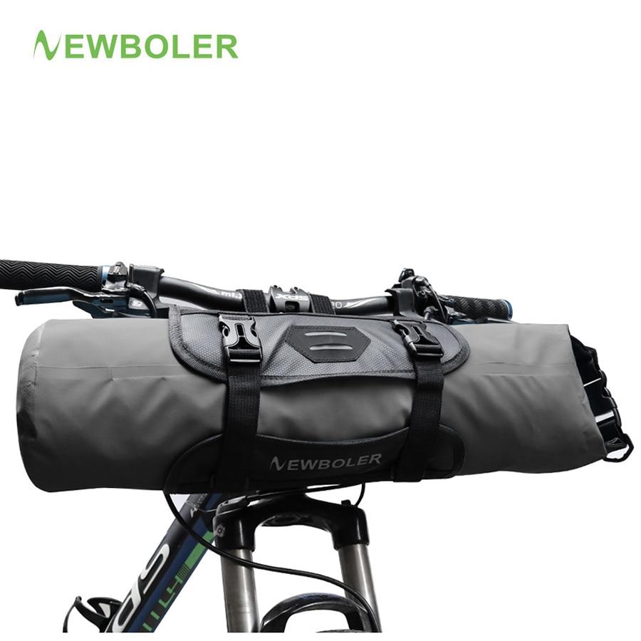Сумка для велосипеда NEWBOLER, водонепроницаемая сумка на руль, велосипедная передняя рама, Аксессуары для велосипеда